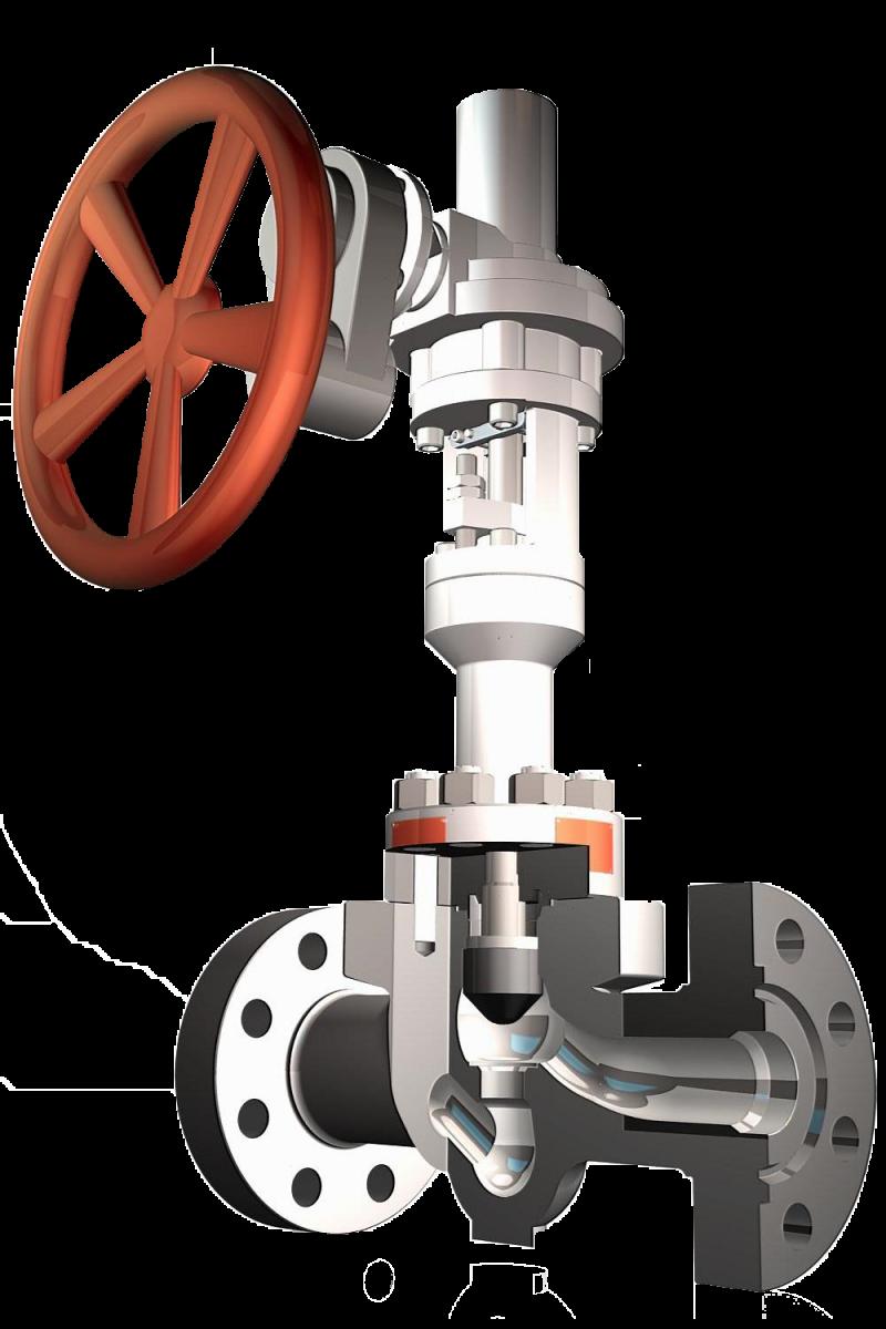 Surface globe valve