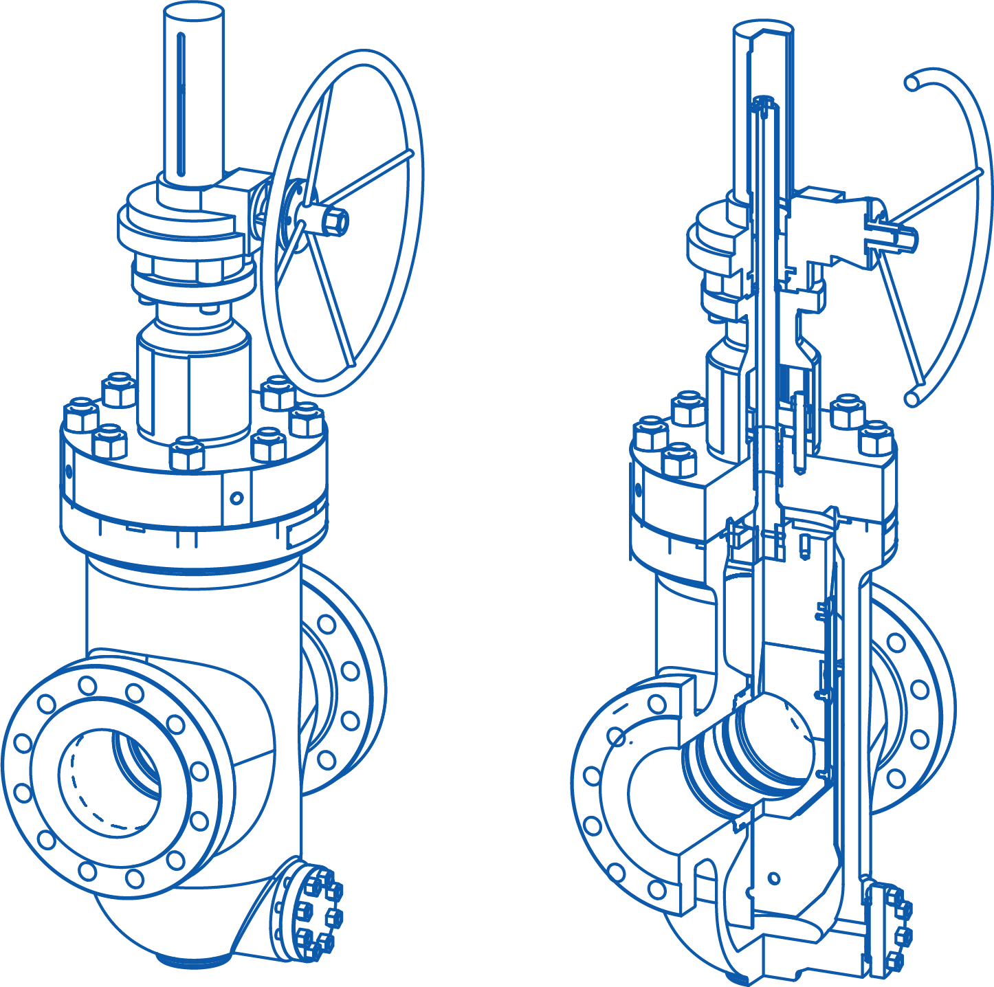 Surface Through Conduit Gate Valve